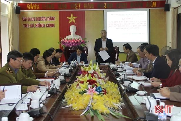 Hồng Lĩnh cần tăng cường quản lý thị trường, đảm bảo VSATTP trong dịp tết